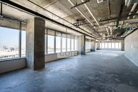 Office for Rent in Motor City, Dubai - Shell and Core Office | Mid Floor | DED