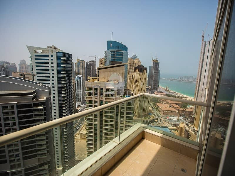 10 1 Bedroom apartment for rent with marina views