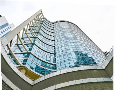cheapest: Fitted with partitions large office for rent in Tecom only 55psf