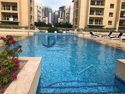 1 Bedroom Flat for Rent in The Greens, Dubai - Upgraded One Bedroom / Pool View