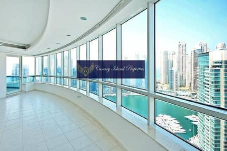 فلیٹ 4 غرفة نوم للايجار في دبي مارينا، دبي - Horizon Tower | 4BR + Maids | Sheikh Zayed Road View