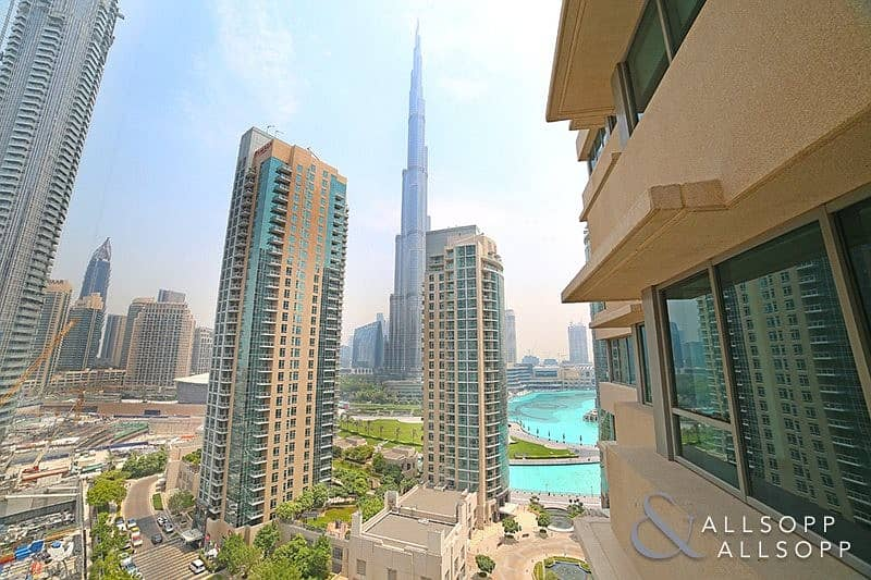 Vacant l 2 Bed l Burj and Fountain Views