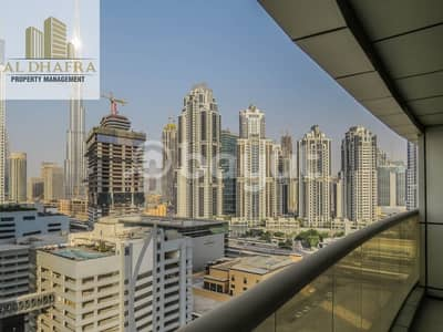 2 Bedroom Flat for Rent in Business Bay, Dubai - Burj Khalifa View I Free Chiller I 8 Payments