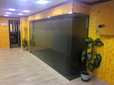 Office for Rent in Deira, Dubai - SPECIAL OFFER, FITTED OFFICE IN ABU HAIL NEAR AL QIYADAH METRO