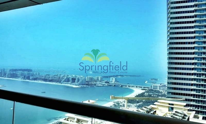 On High Floor| Full Palm and Beach Views|Near Tram