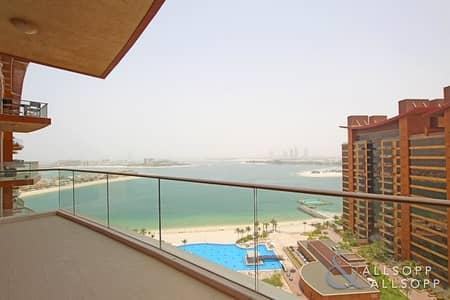 فلیٹ 1 غرفة نوم للايجار في نخلة جميرا، دبي - One Bed | With Sea Views | Now Available