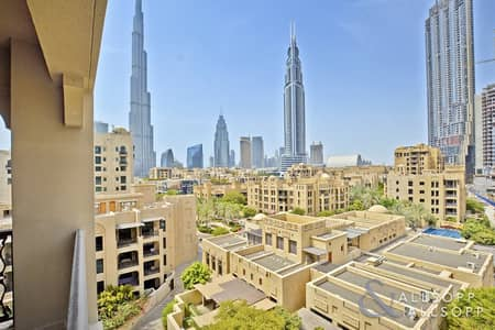 2 Bedroom Flat for Sale in Old Town, Dubai - Two Bed | High Floor | Burj Khalifa View