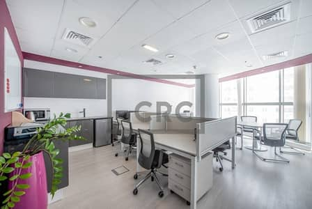 Office for Sale in Barsha Heights (Tecom), Dubai - Furnished  3 Parkings High Floor DED