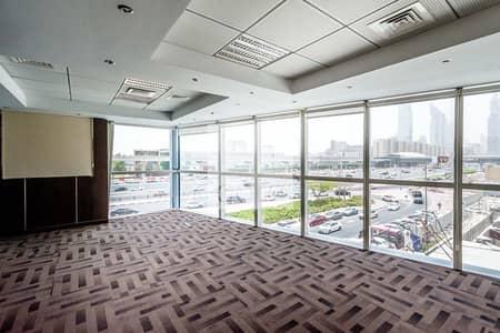 مکتب  للايجار في شارع الشيخ زايد، دبي - Fitted Office | Incl Service Charges | DED