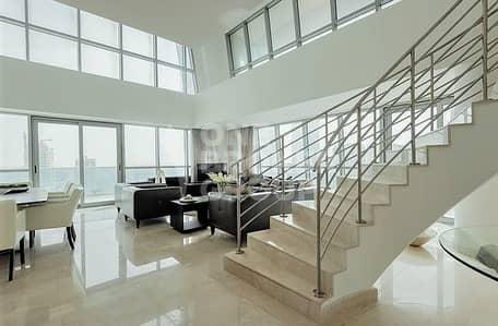 3 Bedroom Apartment for Sale in Dubai Marina, Dubai - Exclusive Duplex|Spectacular Marina View|4