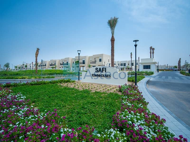 16 Brand New 3 Bed | Single Row | Safi Townhouses