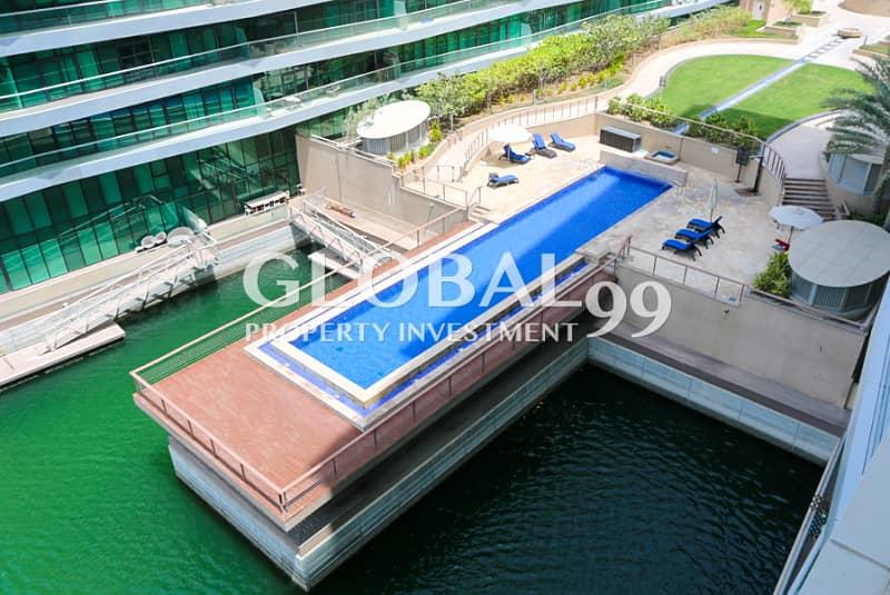 10 FULL SEA VIEW 1BR Apt in Naseem Residence