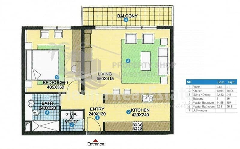 11 OWN Cheapest 1BR Apartment with  high rent return