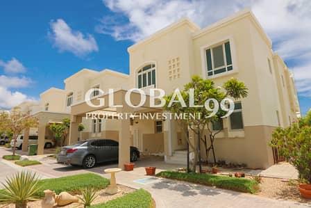 فیلا 3 غرفة نوم للايجار في الغدیر، أبوظبي - Book Viewing Now! Serene Location|Corner Villa