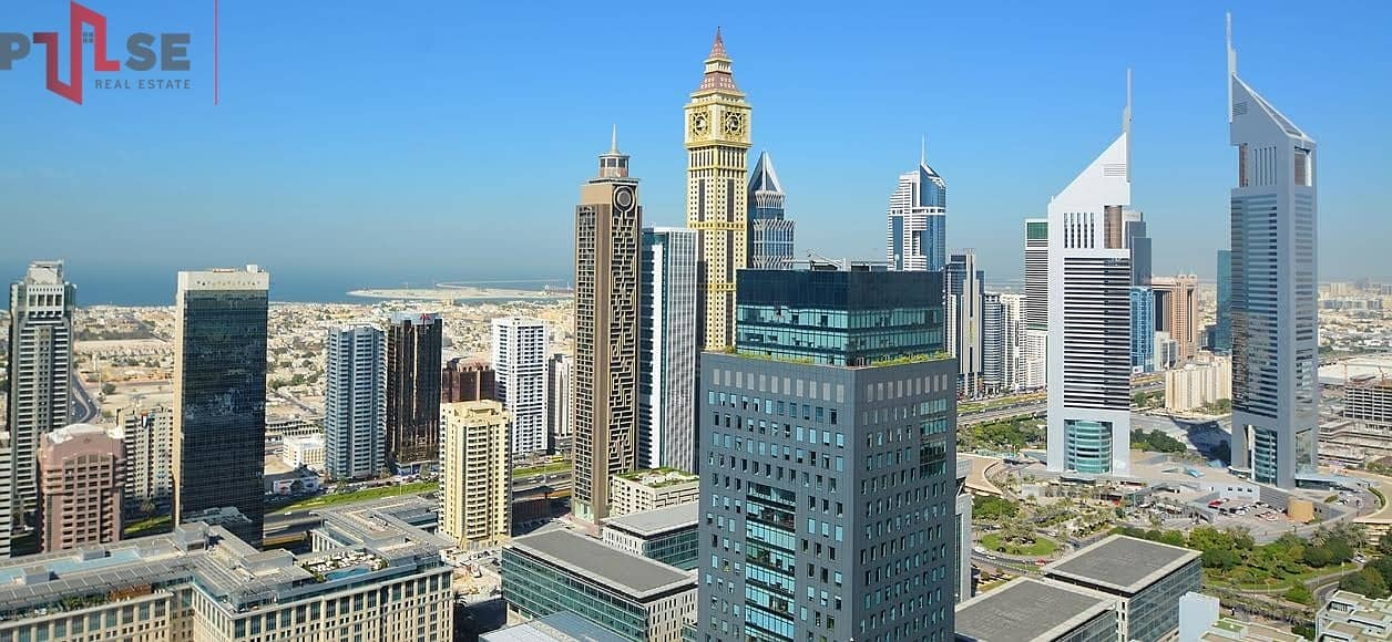 Mid Floor 2BR | Sea and DIFC view | DIFC