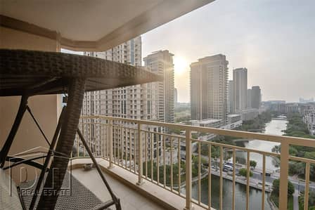 1 Bedroom Apartment for Sale in The Views, Dubai - Incredible 1 Bed Apt with Full Lake Views