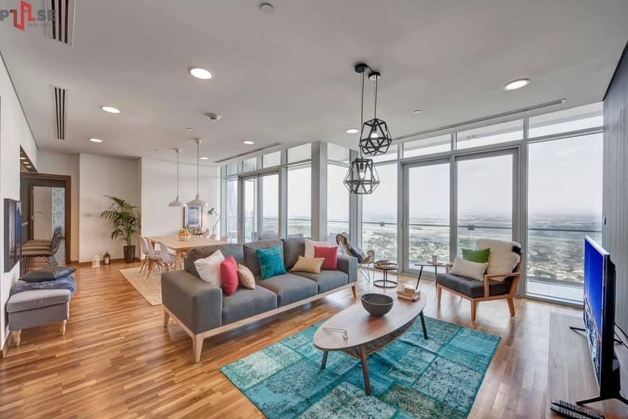 Zabeel View - Simplex 2BR - High Floor