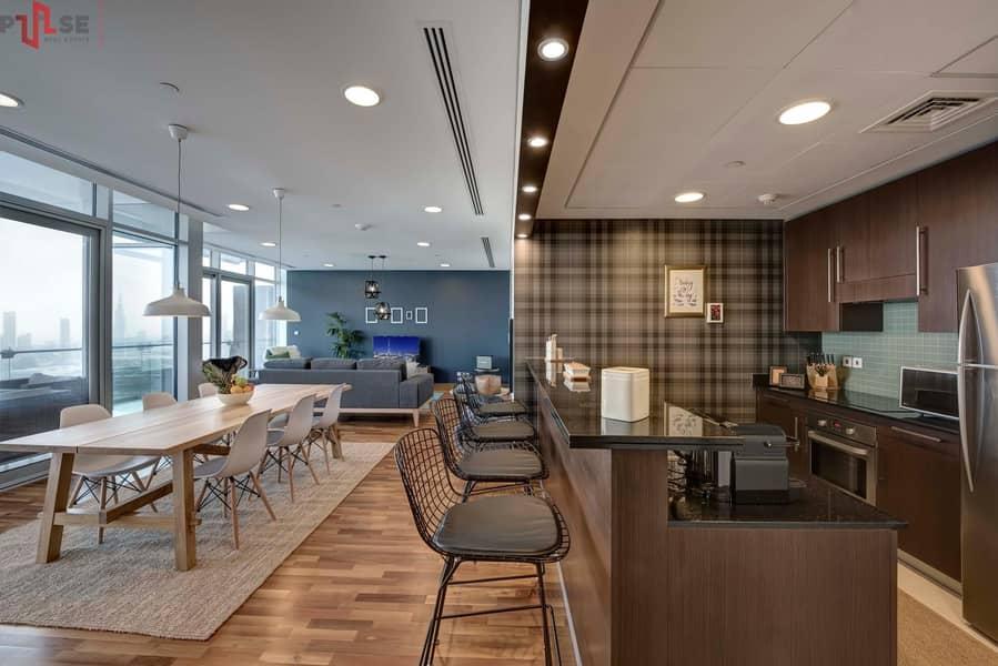 2 Zabeel View - Simplex 2BR - High Floor