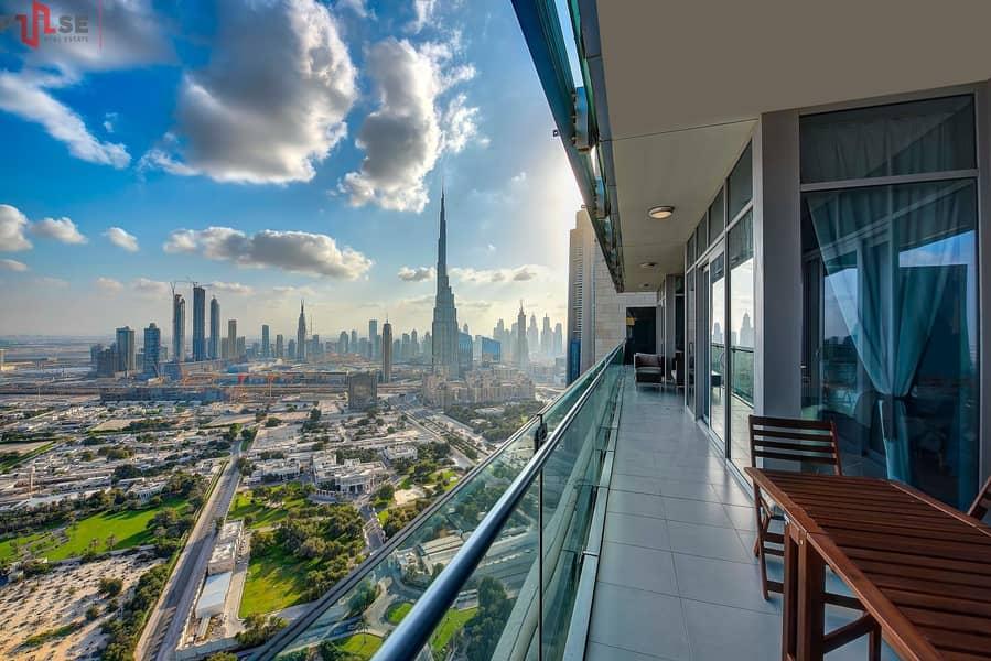 13 Zabeel View - Simplex 2BR - High Floor