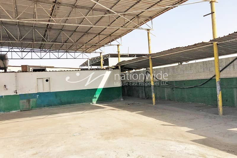 10 Big Warehouse in Mussafah Up For Sale!