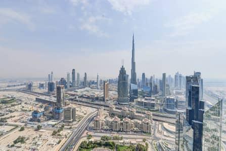 فلیٹ 2 غرفة نوم للايجار في مركز دبي المالي العالمي، دبي - 2 bedroom with full Burj  Khalifa  view