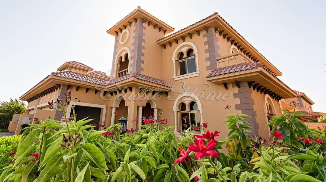 Perfect Location! 4 Bedroom + Maids Room Semi-Detached Andalusia Style