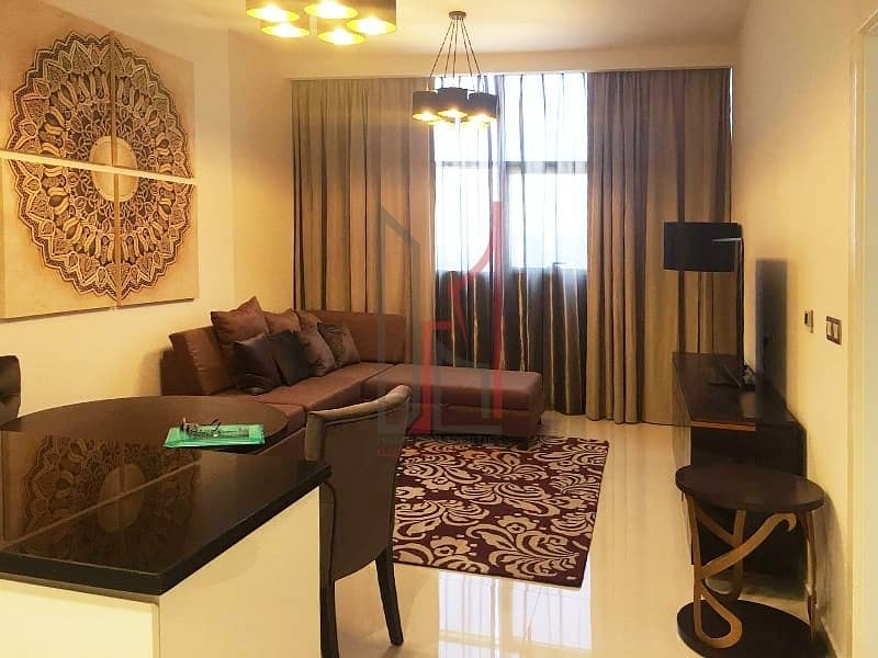 Spacious Fully Furnished 1 Bedroom