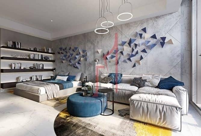 Studio| Apt at Meydan 50/50 payment plan