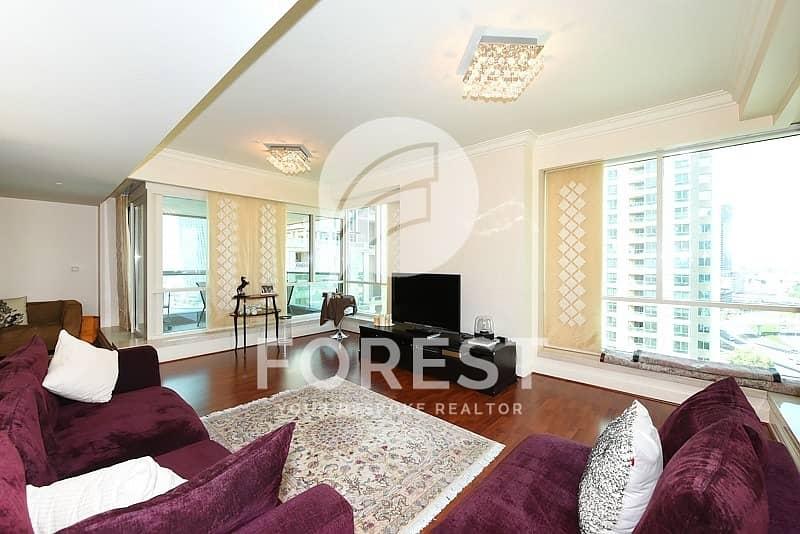 Fully Furnished | Marina Views | Mid floor | 3BR