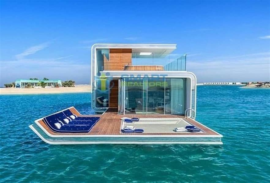 The Floating Sea House Villa in Dubai By Heart of Europe
