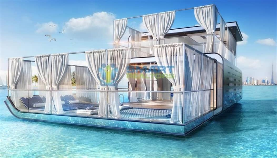 13 The Floating Sea House Villa in Dubai By Heart of Europe