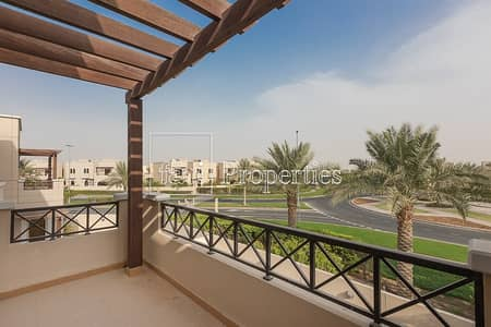 تاون هاوس 4 غرف نوم للايجار في مدن، دبي - Very well maintained | Single Row | Landscaped