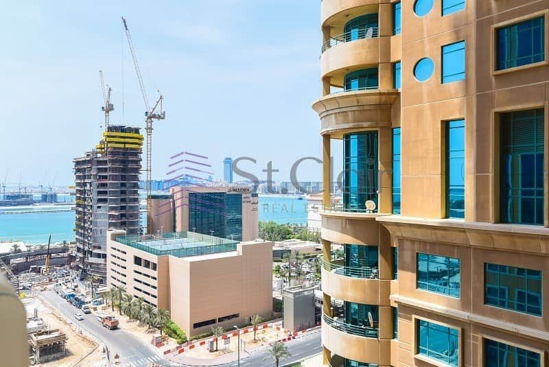 Fully Furnished 1 Bed | Low Floor | Sea View
