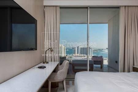 فلیٹ 2 غرفة نوم للايجار في نخلة جميرا، دبي - Beachfront | Fully Furnished | Reduced