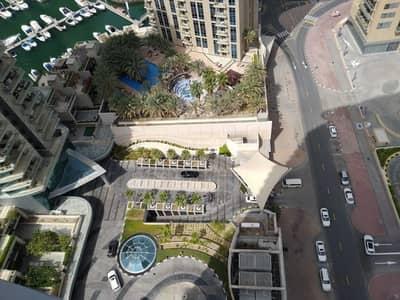شقة 2 غرفة نوم للايجار في دبي مارينا، دبي - Hot deal Marinascape Trident Oceanic Specious 2 bedroom with Sea and Lake view @ 105k/-