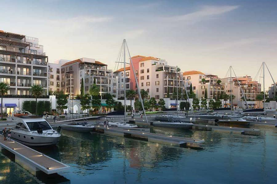 Port De La Mer | Large 4BHK |Marina View