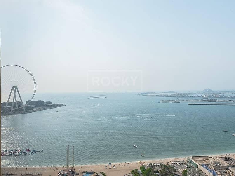 2 On High Floor | Spacious 2 Bed | Sea View | JBR