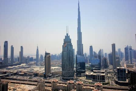 2 Bedroom Apartment for Rent in DIFC, Dubai - Unobstructed Burj Khalifa View|Massive Size|