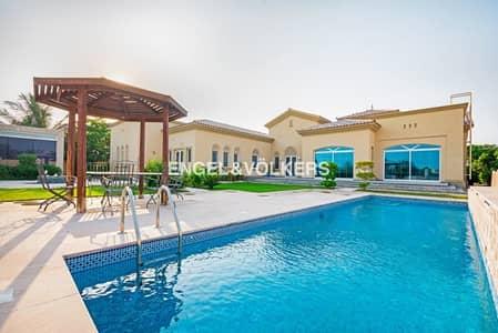 فیلا 5 غرفة نوم للبيع في المرابع العربية، دبي - Golf Course View | Private Pool | Upgraded