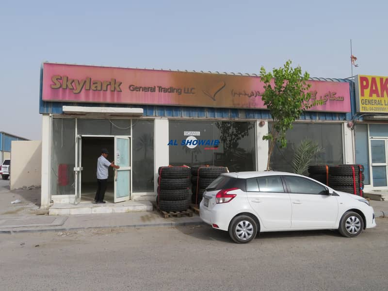 2 1500 Sq ft Showroom & Warehouse Available in Nad al hamar