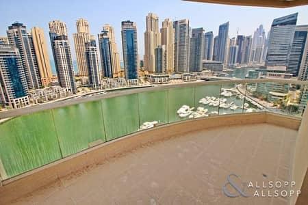 فلیٹ 3 غرفة نوم للبيع في دبي مارينا، دبي - Full Marina View | Vacant | Three Bedroom