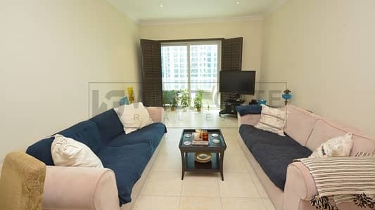 2 Bedroom Flat for Rent in Dubai Marina, Dubai - F. Furnished | Very Spacious 2 Bedroom