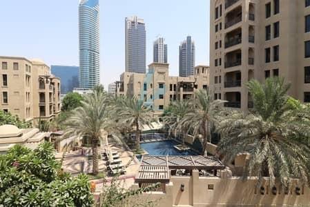 فلیٹ 2 غرفة نوم للايجار في المدينة القديمة، دبي - Large 2 Bed Apt I Spacious Well Maintained