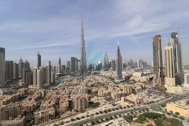 2 Full Burj Khalifa View I Furnished 2 Beds