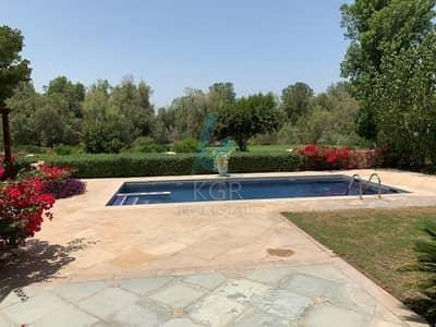 فیلا 5 غرفة نوم للبيع في عقارات جميرا للجولف، دبي - Must See 5 BR+M+Pool in Lime Tree Valley