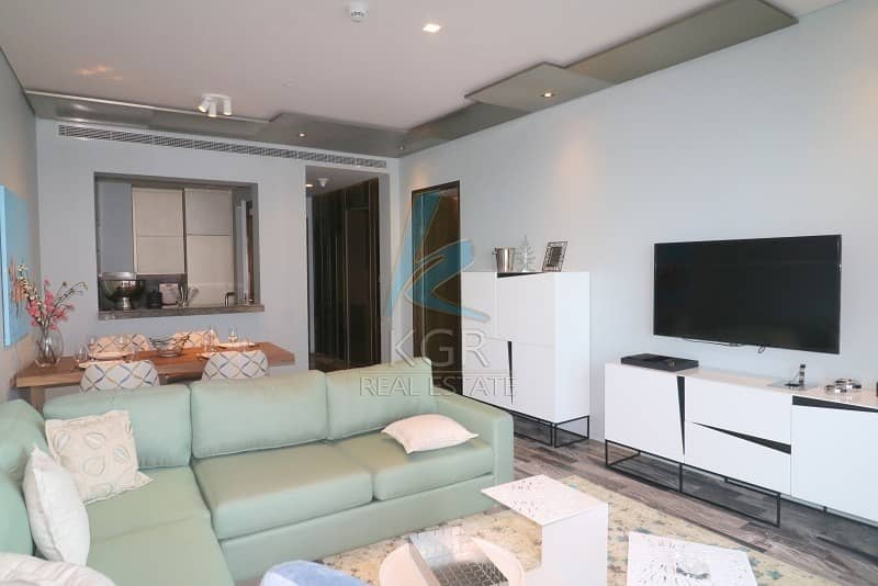 2 Large 1 Bed Apt Furnished with Palm View