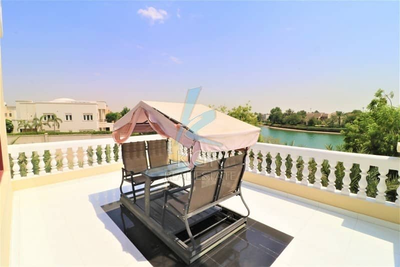HUGE Furnished 7BR Lake View in Emirates Hills
