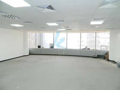 Office for Rent in Jumeirah Lake Towers (JLT), Dubai - Lake View Fitted Office With Pantry