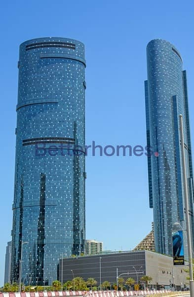 2 Bedroom Apartment for Sale in Al Reem Island, Abu Dhabi - Stunning 2 Beds facing partial sea - Sky Tower