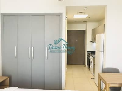 Studio for Rent in Al Furjan, Dubai - Furnished Unit|Pool View|Chiller free|Big  Balcony